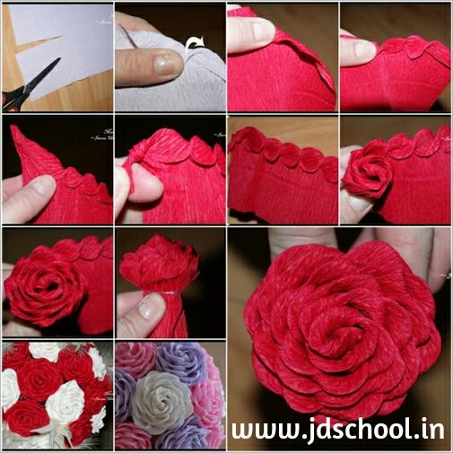 Цветы роз своими руками