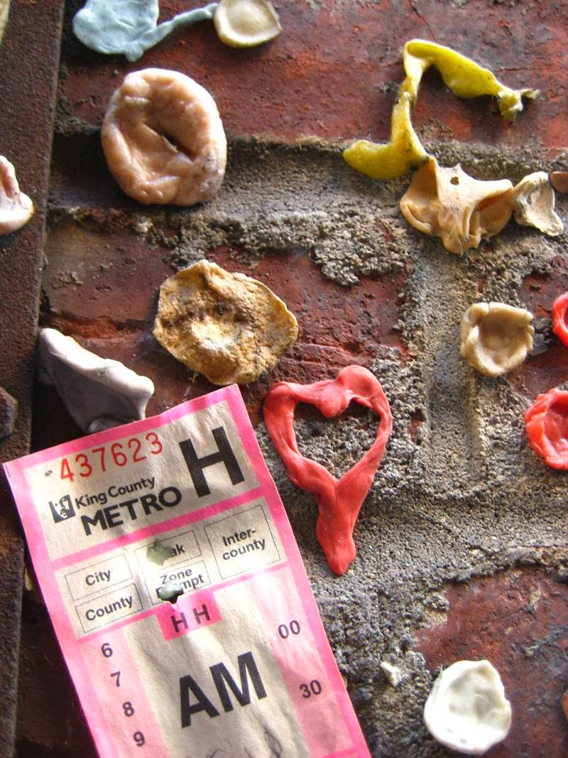 The Chewing Gum Wall   Seattle, USA
