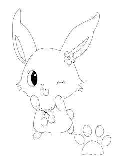 Jewel Pets Coloring Pages
