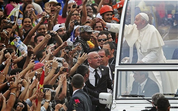Pope Francis continues to take the world by storm