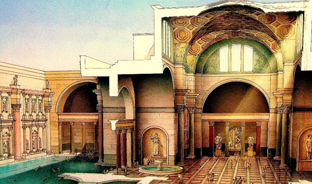 Home Sweet Rome: The Baths of Caracalla Baths Of Caracalla Reconstruction