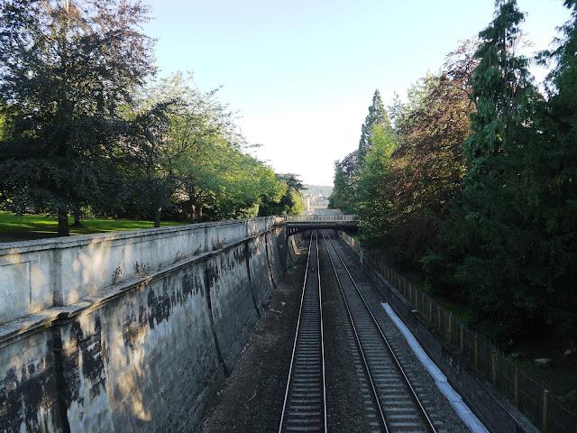 Sydney Gardens railway line