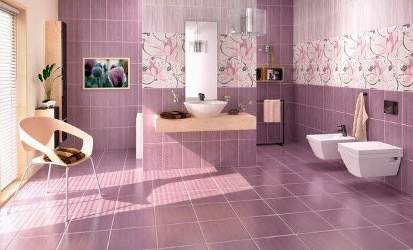 model keramik kamar mandi modern warna ung