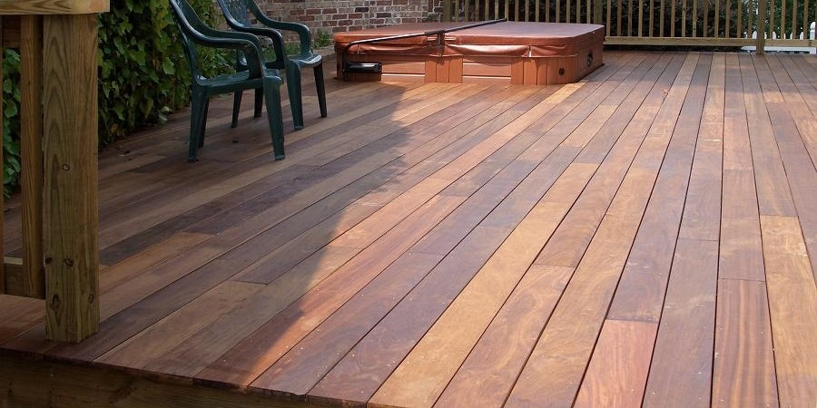 Brazilian hardwood decking for Ipe decking vs trex