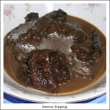 "Resep Masakan ""SEMUR DAGING SAPI"""