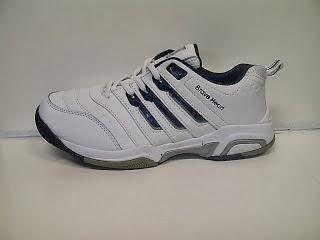 Sepatu Adidas Brave Heat  putih,sepatu tenis