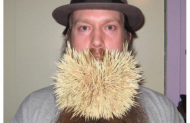 Toothpick city Toothpick-beard