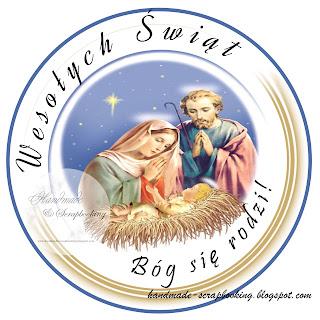 Świąteczne Digi Stemple