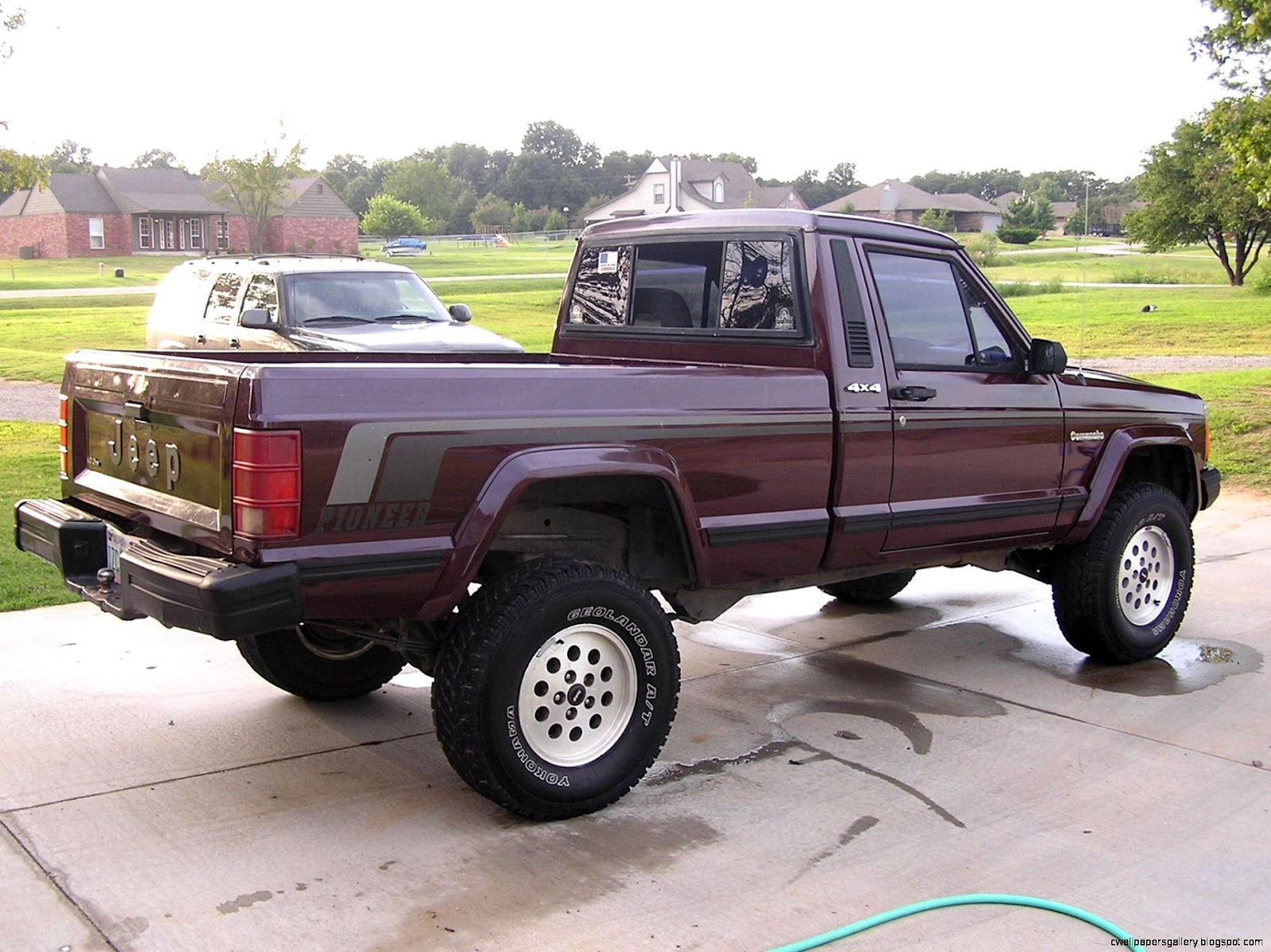 1988 Jeep Comanche Lifted