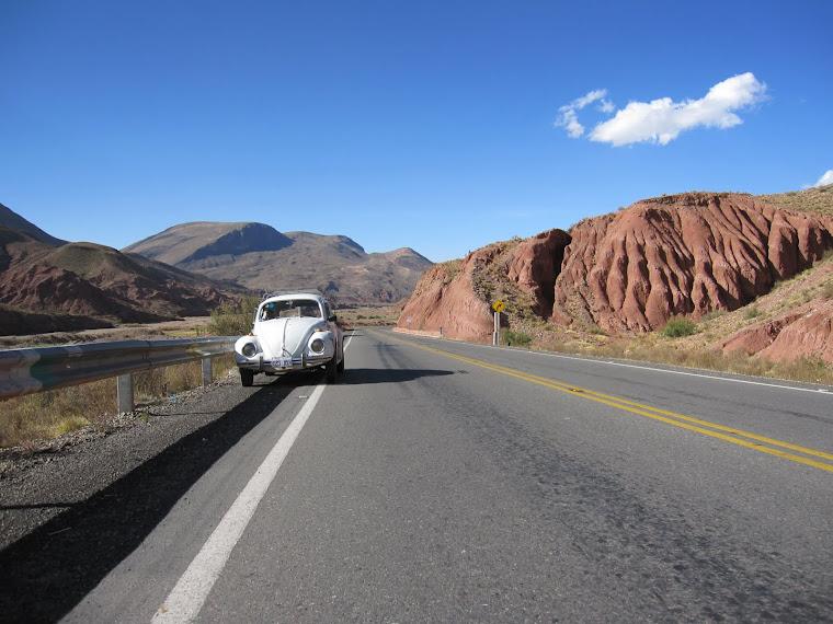 Potosí - Oruro - La Paz highway