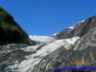 Viaje a Nueva Zelanda: Glaciar Franz Josef
