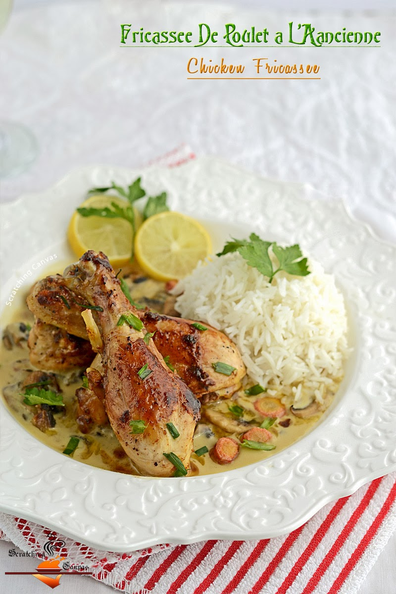 fricassee as chicken fricassee chicken fricassee is a classic chicken ...