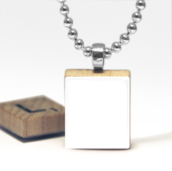 Digital Photo Template for Scrabble tile pendant