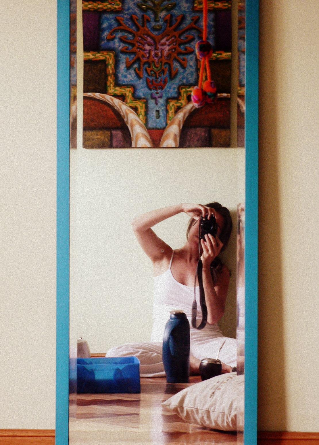 Nube de agua cuadro de amiga espejo de abuela y flor - Cuadros de espejo ...
