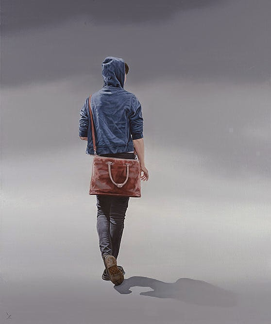 27-The-Old-Satchell-Nigel-Cox-Photo-realistic-Minimalism-in-Surreal-Paintings-www-designstack-co