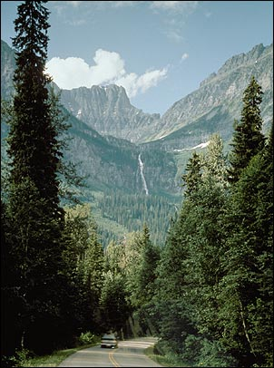 ... the Going to the Sun Road on June 11, 2014. (Glacier National Park