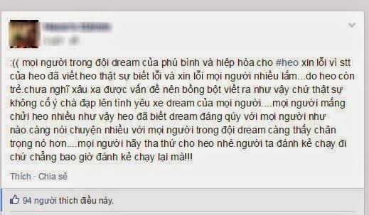 Đi xe Dream thì đừng theo đuổi em