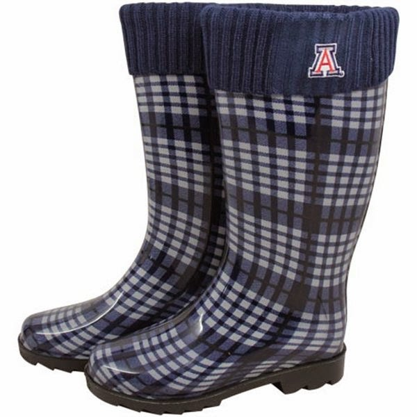 Arizona Wildcats NCAA Rain Boots