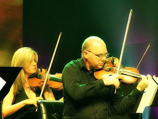 Orquestra de Câmara da Ulbra no concerto Clássicos do Rock Nacional, em Porto Alegre.