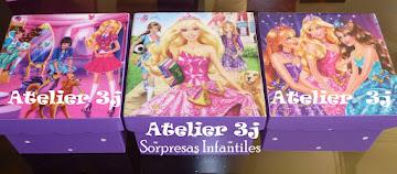 Sorpresas infantiles BARBIE,Escuela de princesas