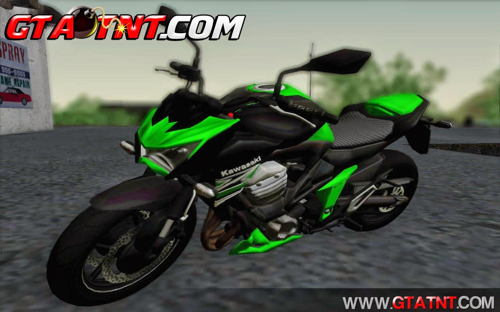 Kawasaki Z800 para GTA San Andreas