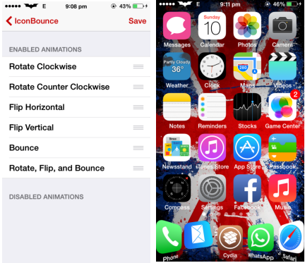 IconBounce Cydia Tweaks