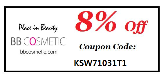 Discount on bbcosmetic