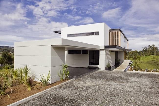 Casas minimalistas y modernas elegante y moderna casa en for Casa minimalista 6 x 12