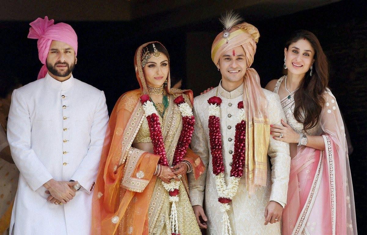 Soha Ali Khan and Kunal Khemu Wedding Pictures