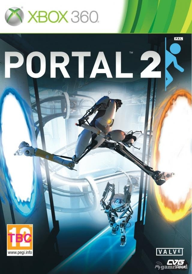 portal 2 ps3 cover. portal 2 ps3 box art. portal 2