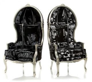 Mebel klasik kursi ukir jepara kursi mebel mahoni finishing silver leaf italian furniture style French furniture stlye Gothic chair