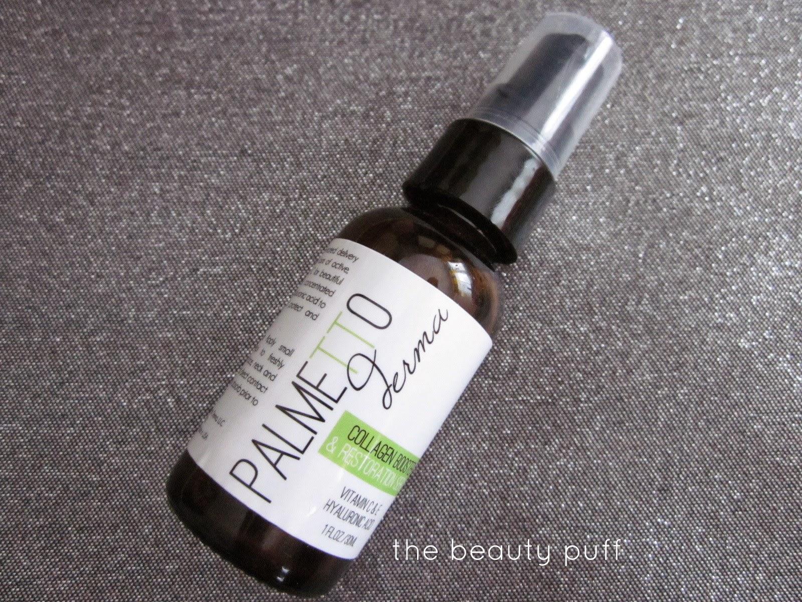 palmetto derma serum - the beauty puff