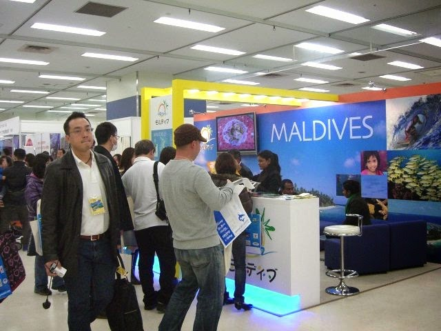 Maldives participates at the Marine Dive Fair 2015 Tokyo Japan