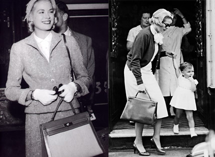 Grace Kelly bolso Kelly Hermès