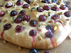 Tuscan Grape and Rosemary Focaccia (Schiacciata a l'Uva)