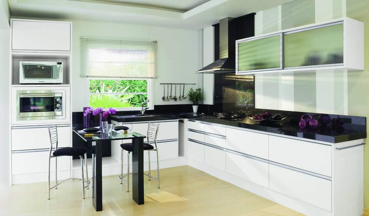Cozinha Planejada Com Passa Prato Fogo De Embutir Cozinha