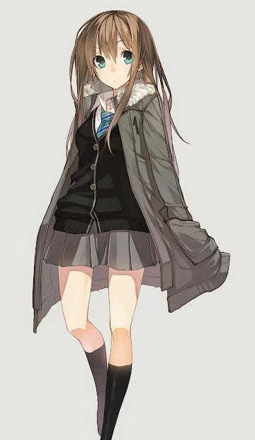 anime high school students