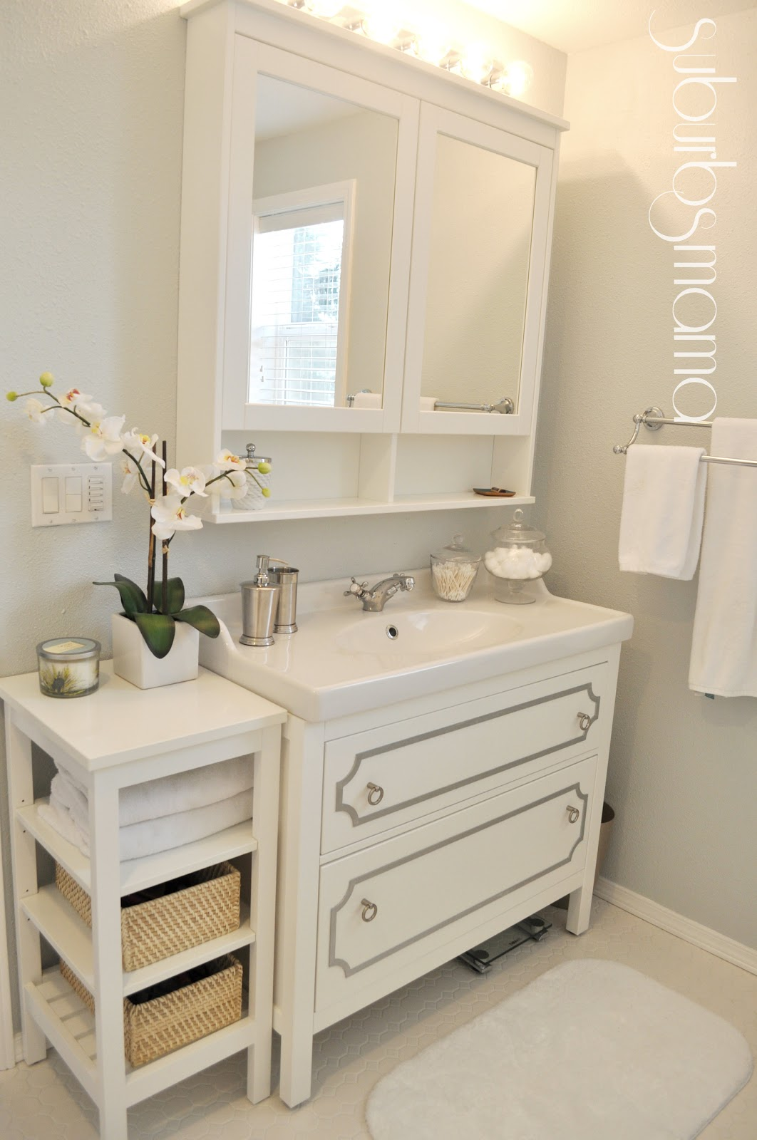 Suburbs Mama Master Bathroom Reveal