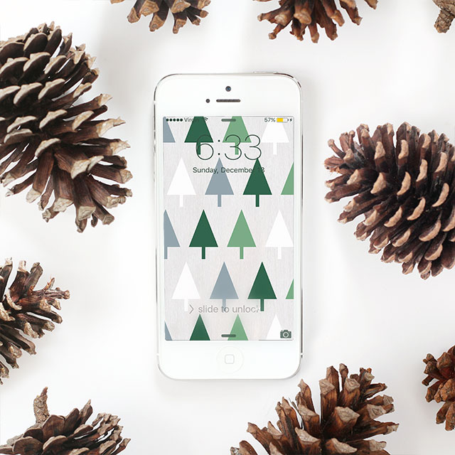 Free downloadable iPhone wallpapers - just in time for the holidays