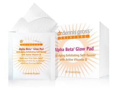 Dr. Dennis Gross Skincare, Dr. Dennis Gross Skincare Alpha Beta Glow Pad, skin, skincare, skin care, self tanner, Dr. Dennis Gross Skincare self tanner, towelettes, face towelettes