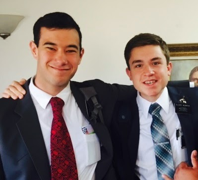 Elder Downs and Elder Murphy