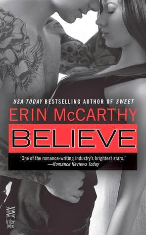 book cover of Believe by Erin McCarthy