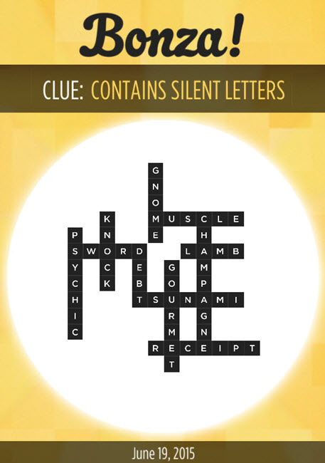 Bonza daily puzzle answers bonza daily word puzzle clue for Soil 8 letters crossword clue
