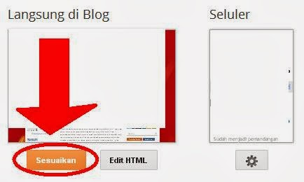 cara merubah template blog