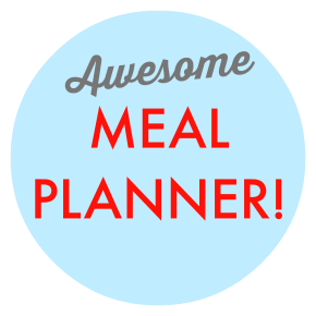 Download my meal planner!
