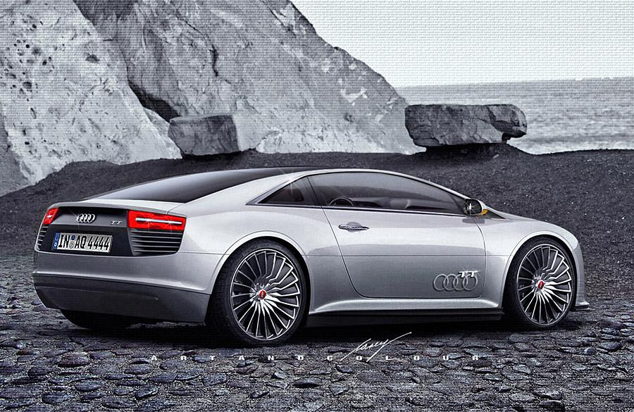 Audi e TT ron: Lean, Mean and Green Sporting Machine