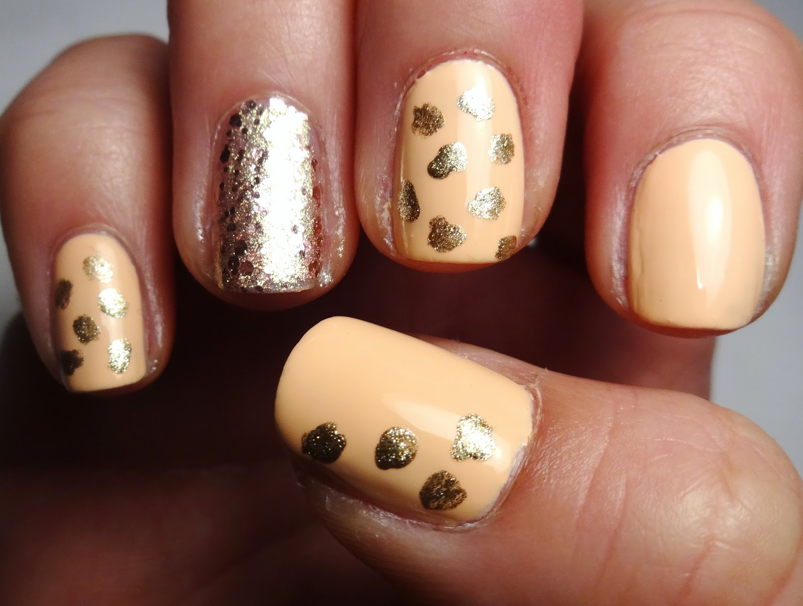 Leopard Print Nails Part 1