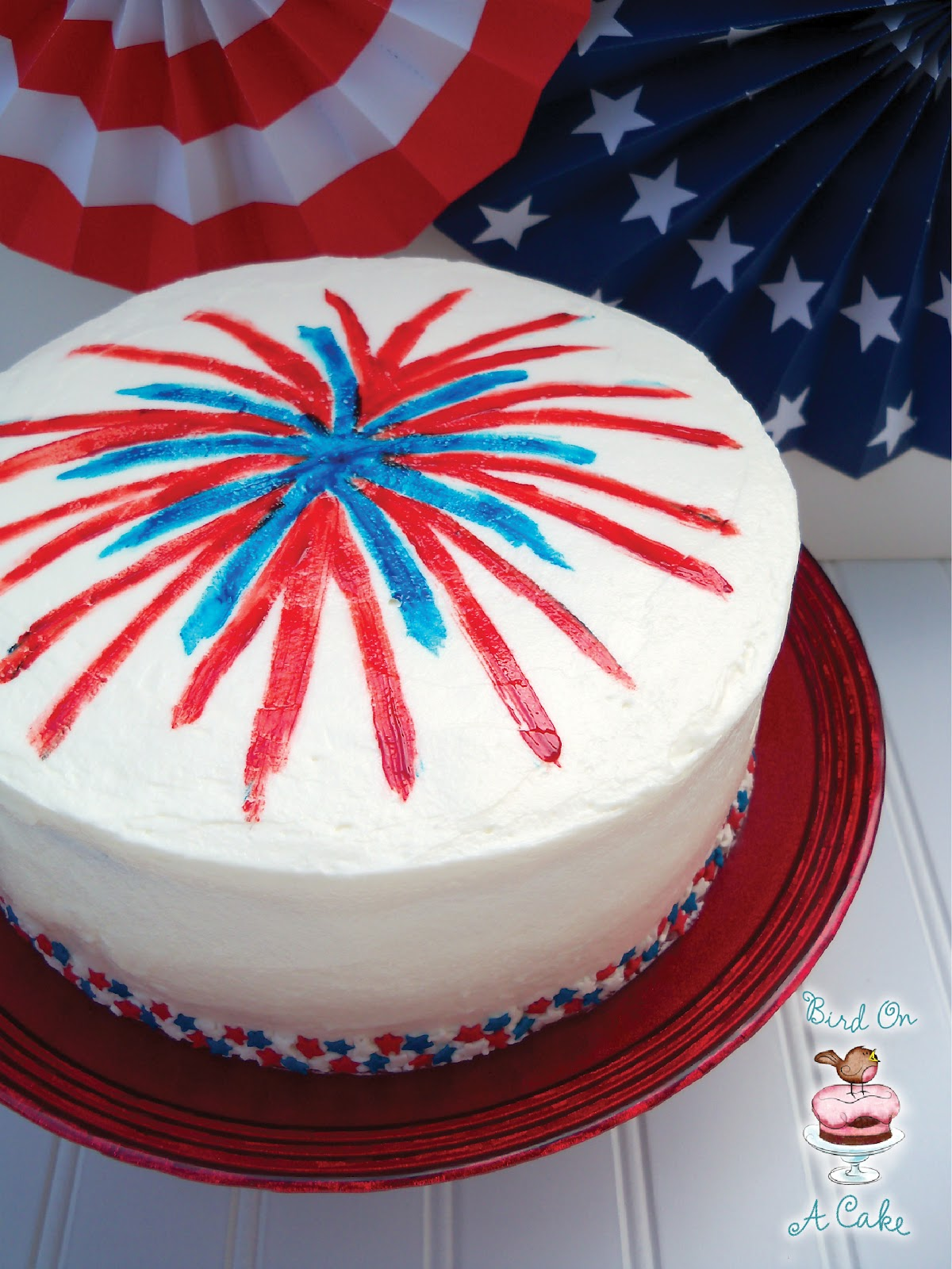 Th Of July Cake Decorations
