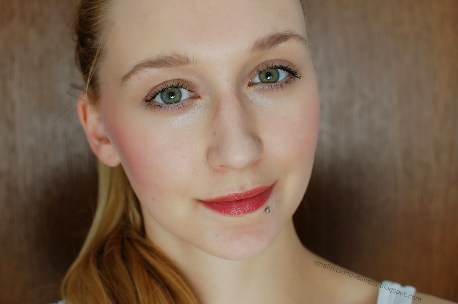FOTD with Benecos Blush Sassy Salmon