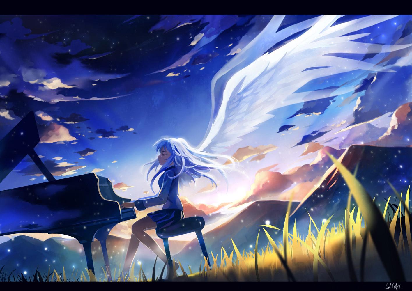 厳選100枚!】「angel beats(エンジェルビーツ)! 」画像・壁紙・動画集